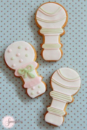 Baby shower cookies London
