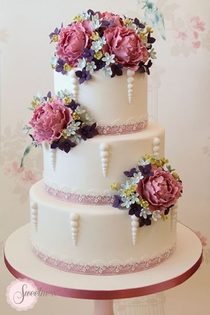 Peony Wedding Cakes London