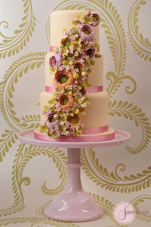 Summer wedding cake, Wedding Cakes London