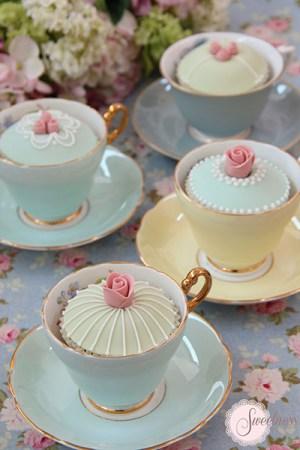 Tea Party cupcakes London