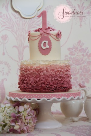 Ruffle Cake, 1st Birthday Cakes London