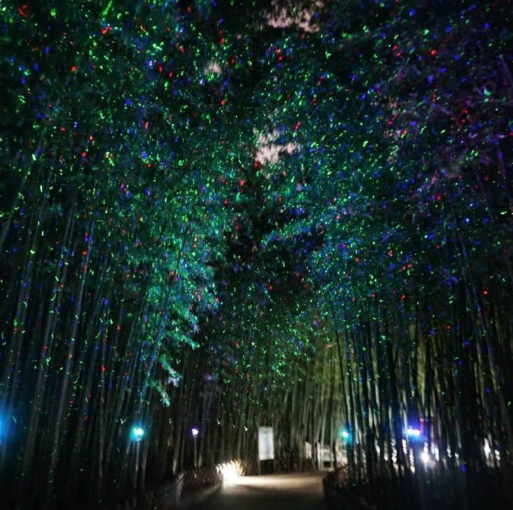 مجرة درب التبانة ليلا فى كوريا الجنوبية