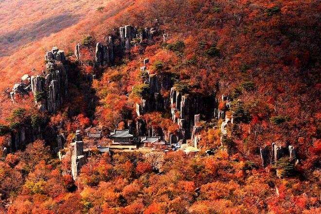 """أجمل الأماكن فى كوريا جبل """"مودونغ سان"""""""