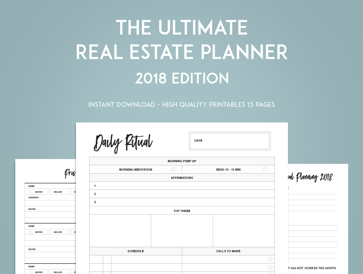 The Ultimate Real Estate Goal Planner