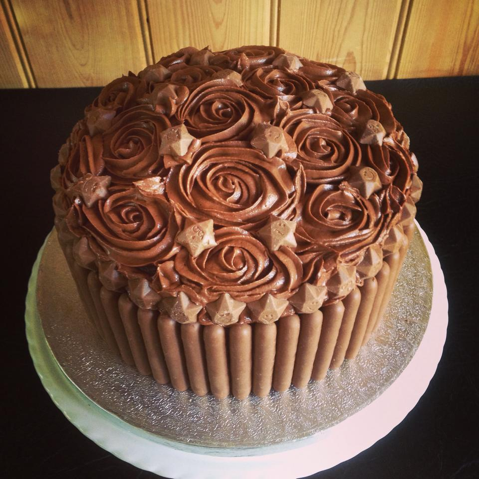 Mega Chocolate Birthday Cake Sweet Peas