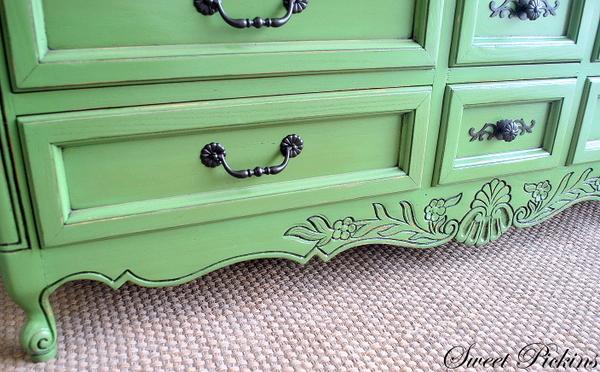Custom Refinished Dresser