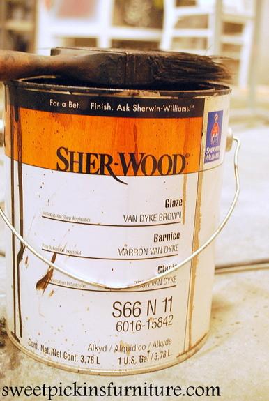 how to glaze furniture - Sweet Pickins Furniture