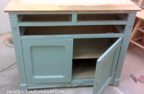 Sweet Pickins Furniture - Sherwin Williams Copen Blue