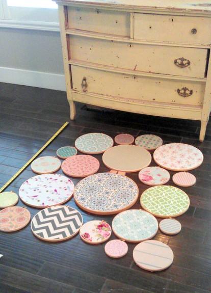Sweet Pickins Embroidery Hoop Art