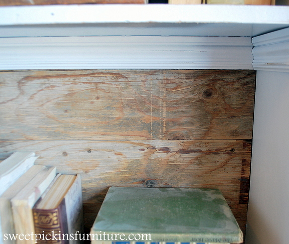 Sweet Pickins gun cabinet transformation