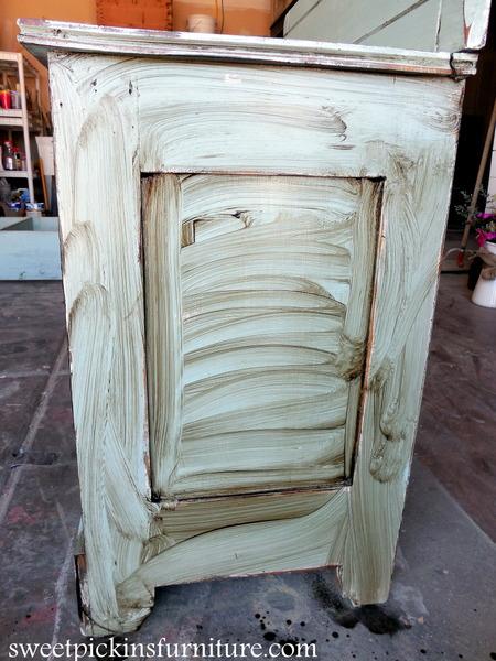 Sweet Pickins Milk Paint - Dark Wax Tutorial - Dark Wax Tutorial Sweet Pickins Furniture