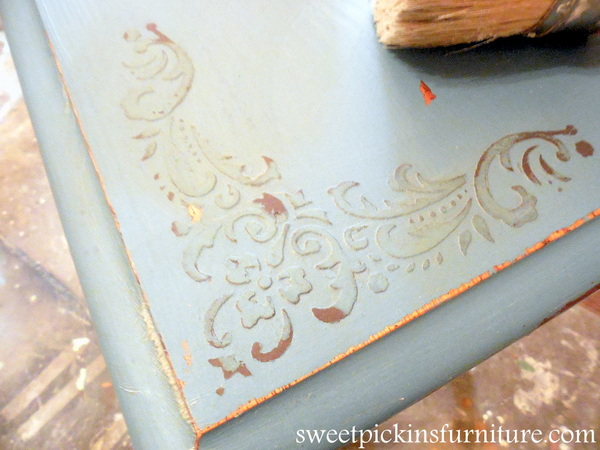 Sweet Pickins - Raised Stencil