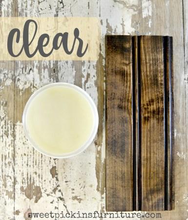 Sweet Pickins Clear Wax