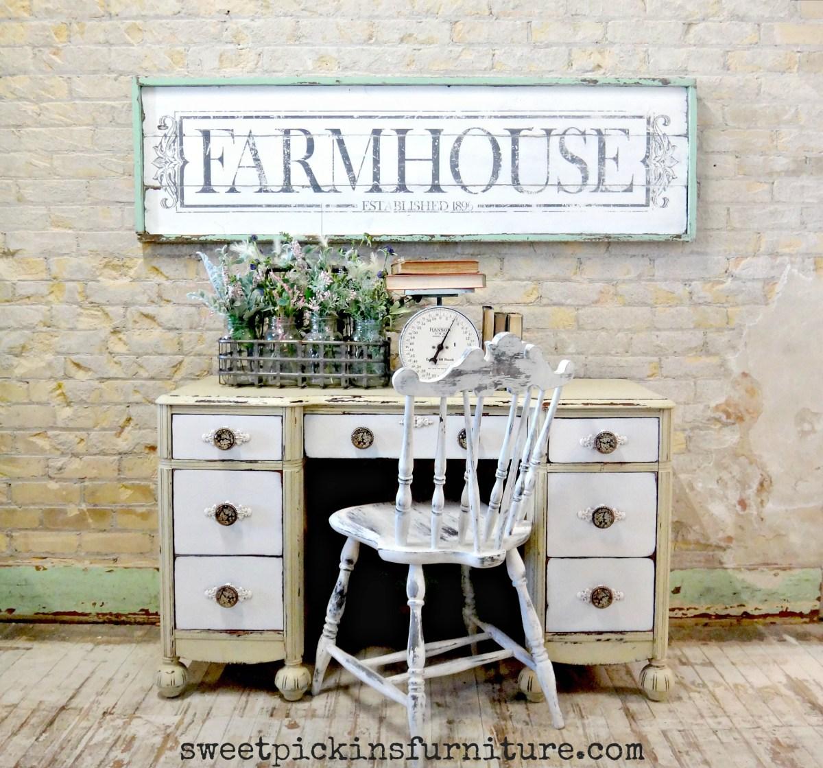 DIY Farmhouse Sign Tutorial Sweet Pickins Furniture