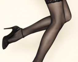 Gerbe Passion Lace Top Hold Ups