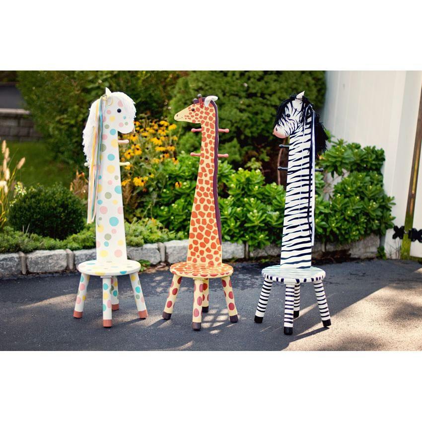 vintage giraffe coat rack