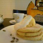 珈琲 茶香『かぼちゃパンケーキ』