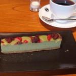 合羽橋珈琲『抹茶のチーズケーキ』