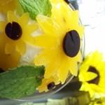 向日葵のパフェ