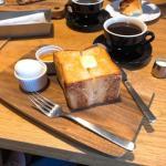 RHC CAFE『panya 芦屋の厚切りバタートースト』