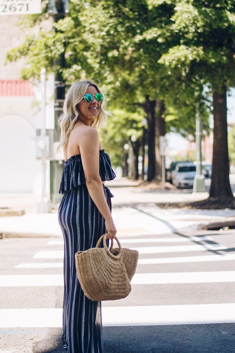 Vacay Vibes: Two-Piece Jumpsuit