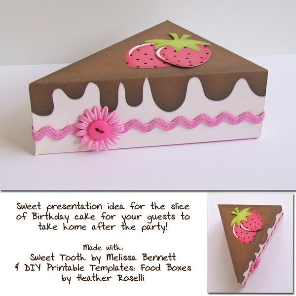 Sweet Tooth Cake Box Sweet Shoppe Gallery