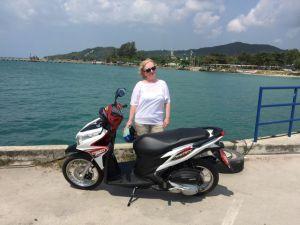 Thailand-Motorroller
