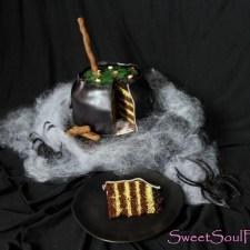 Halloween-Special II … Schoko-Matcha-Hexenkessel (vegan)