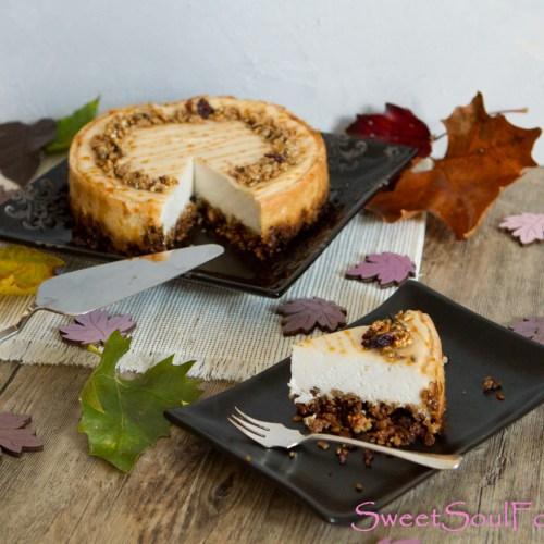 Granola-Cheesecake … (vegan)