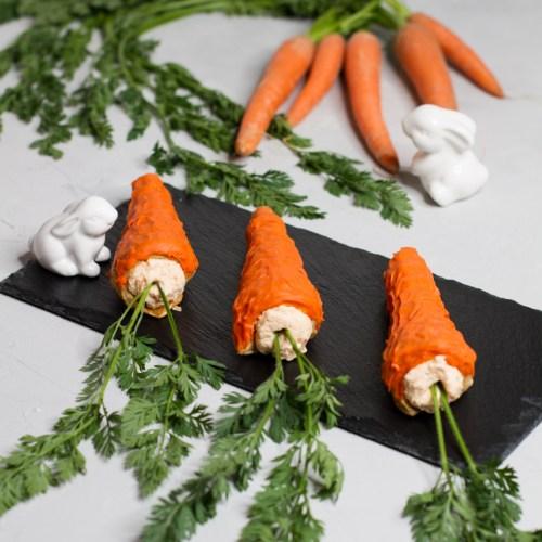 süße Karotten für den Osterhasen … (vegan)