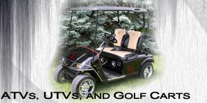 ATVs, UTVs and Golf Carts