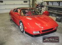 Ferrari 348 Car Audio