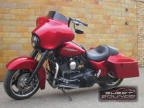 2012 Harley Street Glide (red)