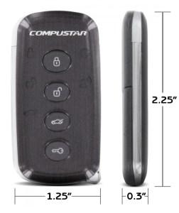 Compustar Slice rf-2w9402-ss Remote Dimensions