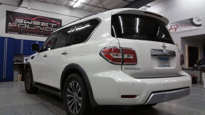 Nissan Armada Rear-seat Entertainment