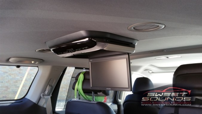 Kia Sedona Rear Seat Entertainment