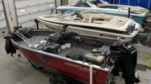 North Mankato Client Upgrades Crestliner Fish Hawk Stereo System