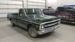 Classic 1970 Chevy C/K 10 Audio System and Tint for Lewisville Client