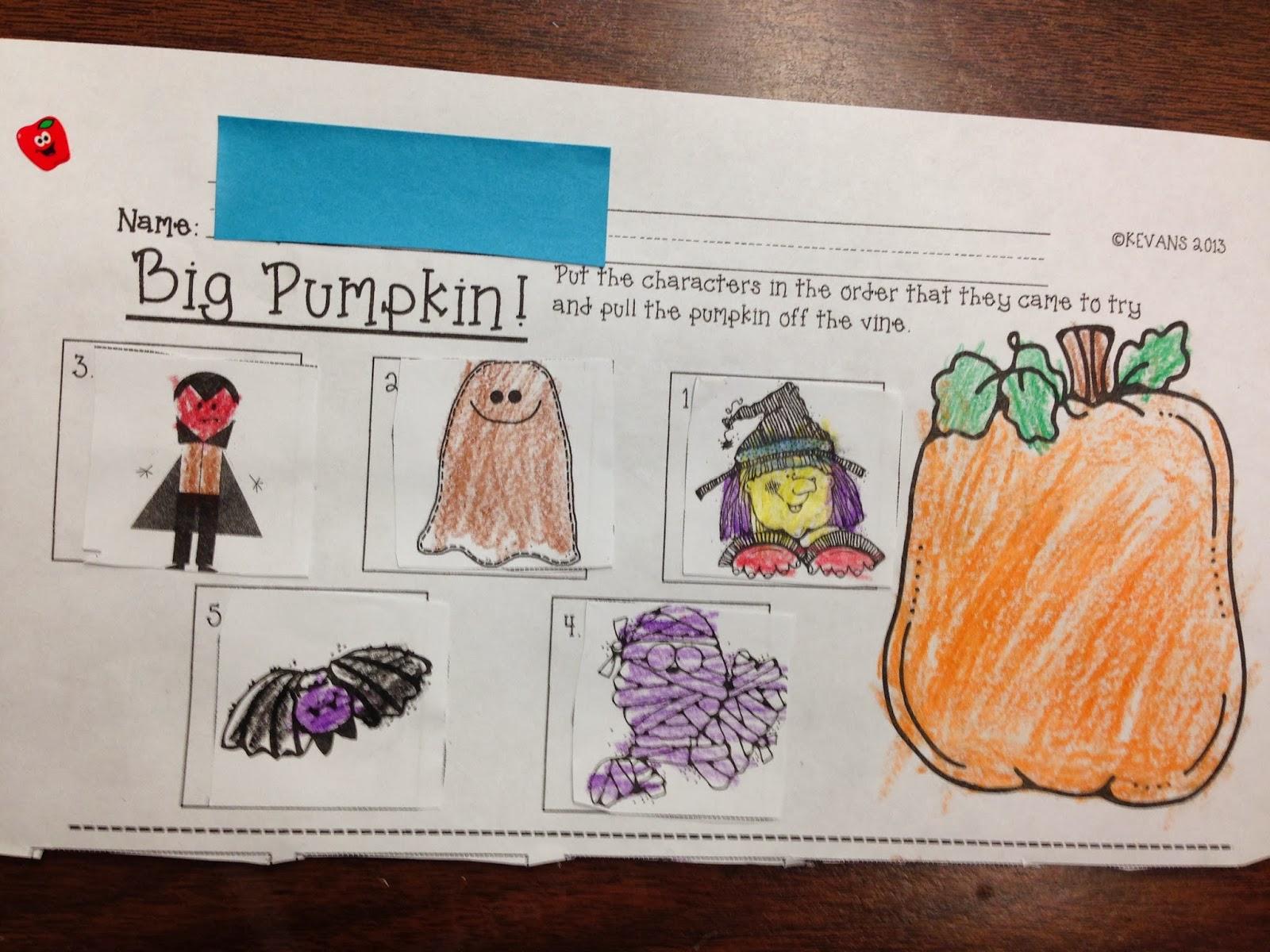 Big Pumpkin Children S Book Amp Halloween Activities