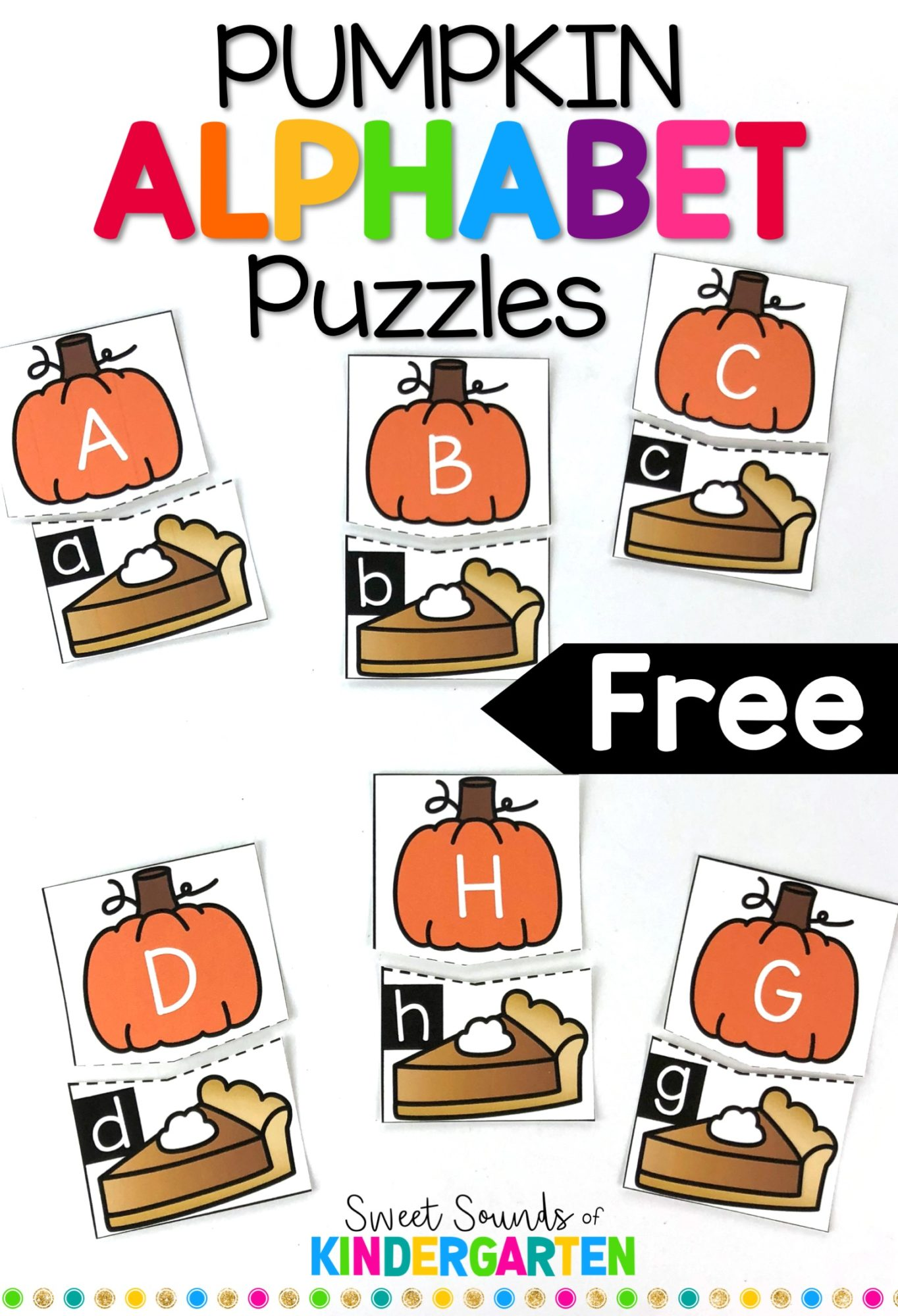 Beginning Letter Sounds Free Matching Cards Pictures
