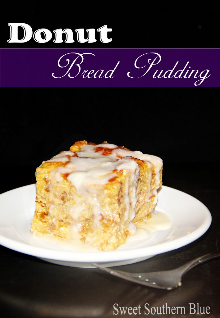 Donut Bread Pudding Sweet Southern Blue