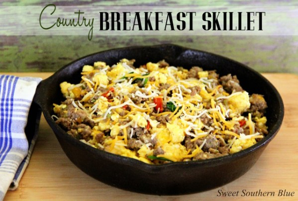 COUNTRY BREAKFAST SKILLET 2