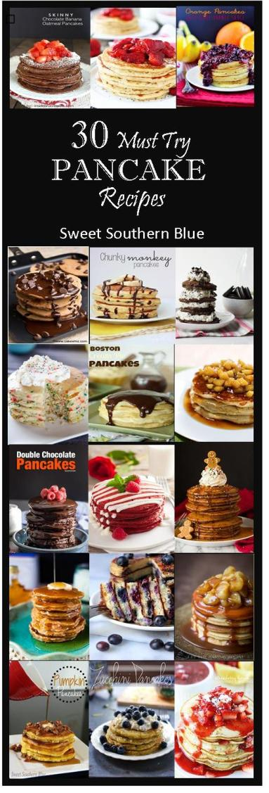 30 pancake recipes