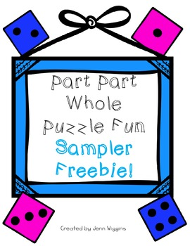Part Part Whole Puzzle Fun Sampler Freebie