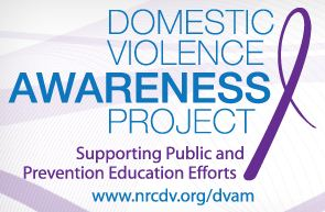 October 2013 National Domestic Violence Awareness Month - Ways You Can Help #SCRF