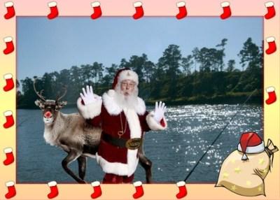 I caught Santa