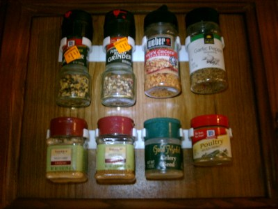 Bellemain Spice Gripper Clip Strips - Afast, easy, inexpensive, and convenient way to get organized!