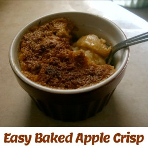 Easy Baked Apple Crisp Recipe