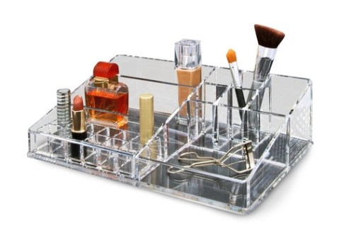 Get Rid of the Clutter With The Epica Clear Cosmetic Organizer