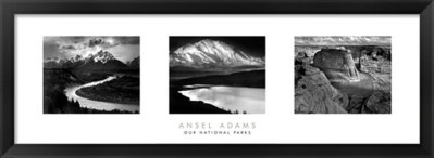 Love Art? You'll Love FulcrumGallery.com! Ansel Adams – Our National Parks Black and White Print